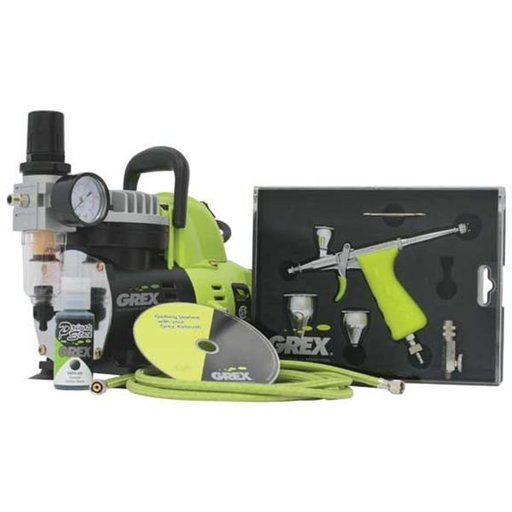View a Larger Image of Tritium TG3 Airbrush Combo Kit