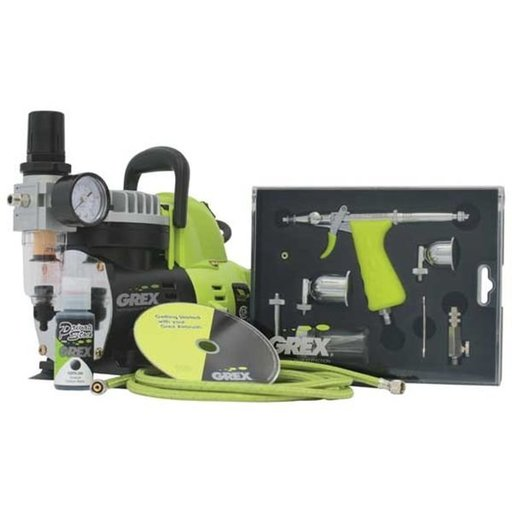 View a Larger Image of Tritium TS3 Airbrush Combo Kit