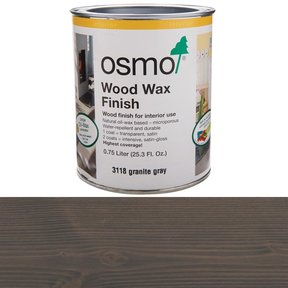 Grey Granite Wood Wax 3118 Solvent Based .75 l