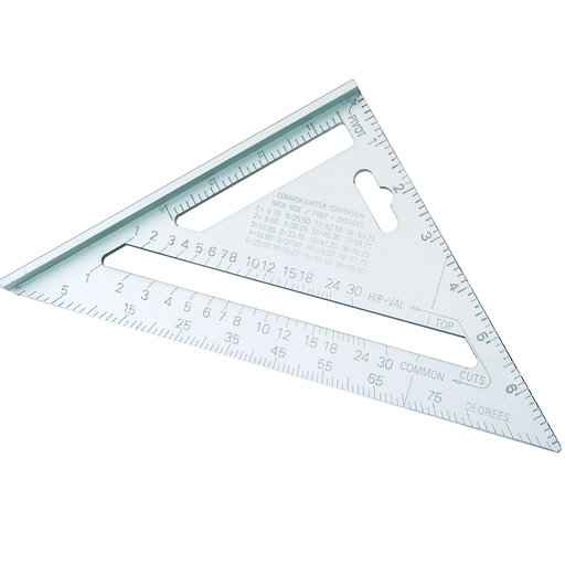 "View a Larger Image of 7"" Heavy-Duty Aluminum Square"