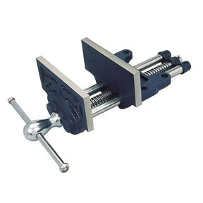 "7"" Plain Screw Woodworking Vise"
