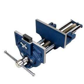 "7"" Quick Release Woodworking Vise with Quick Adjustment Trigger"
