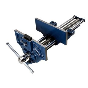 "9"" Quick Release Woodworking Vise with Quick Adjustment Trigger"