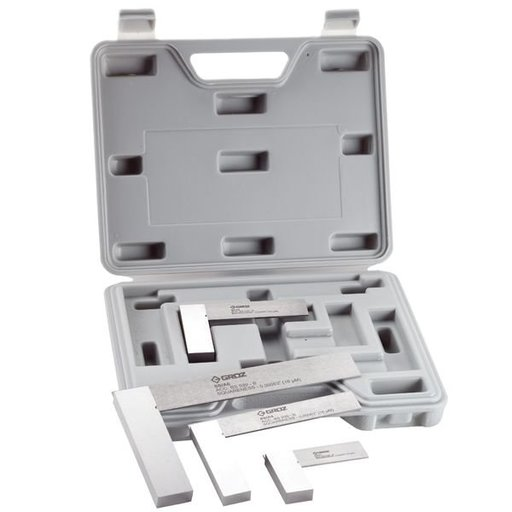 View a Larger Image of Engineer's Square Set with Plastic Case 4-piece