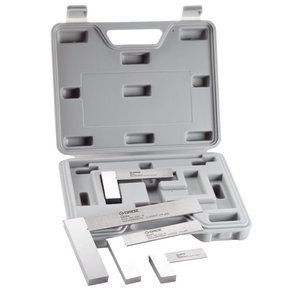 Engineer's Square Set with Plastic Case 4-piece