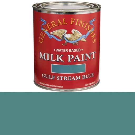 View a Larger Image of Gulf Stream Blue Milk Paint Quart