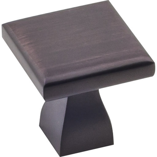 """View a Larger Image of  Hadly Knob 1"""" O.L.,  Brushed Oil Rubbed Bronze"""
