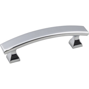 "Hadly Pull, 3"" C/C, Polished Chrome"