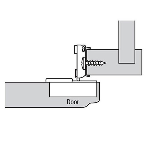 """View a Larger Image of 110° 1/2"""" Overlay Hinge Pair"""