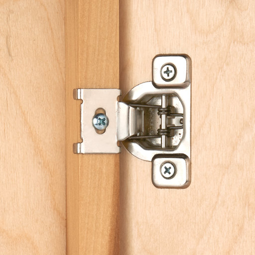 "View a Larger Image of 110 Degree 1/2"" Overlay Hinge, 2-piece"