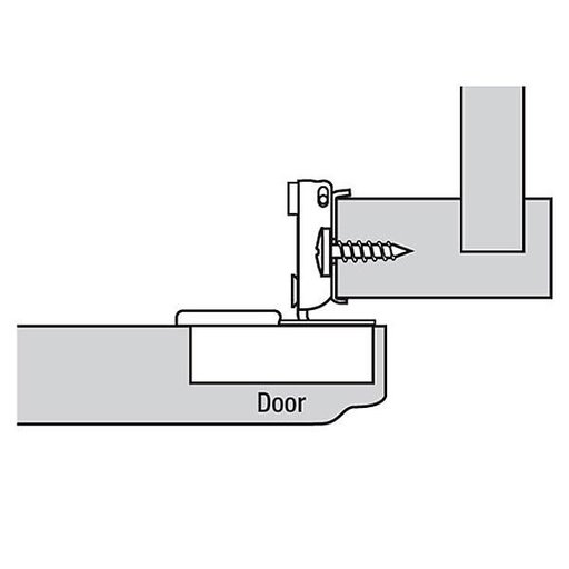 "View a Larger Image of 110° 5/8"" Overlay Hinge Pair"