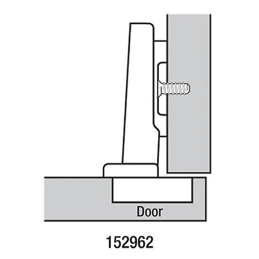 View a Larger Image of 110° Full Overlay Hinge Pair
