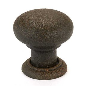 125.88.051 Bordeaux Knob, Rust, 32mm, 1 piece