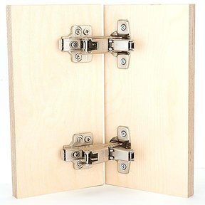 165° Full Overlay Hinge Pair