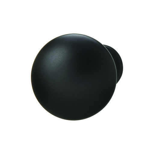 View a Larger Image of Chanterelle Black Matte Knob 30x28mm