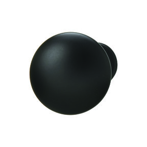 Chanterelle Black Matte Knob 30x28mm