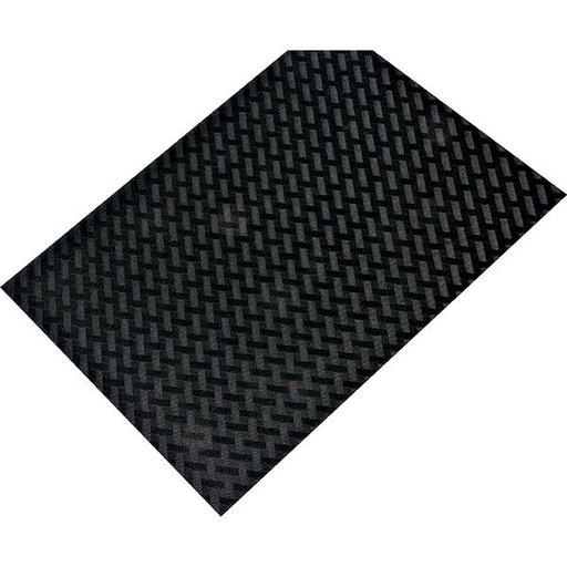 """View a Larger Image of Non-Slip Mat, Weave Pattern, Black, 23-5/8"""" x 46-1/16"""""""