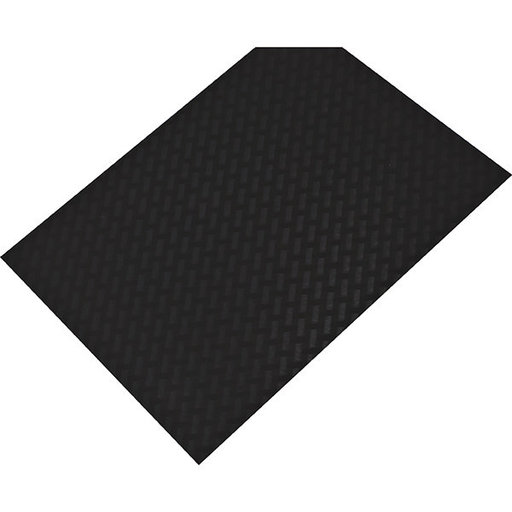 "View a Larger Image of Non-Slip Mat, Weave Pattern, Umbra Gray, 23-5/8"" x 46-1/16"""