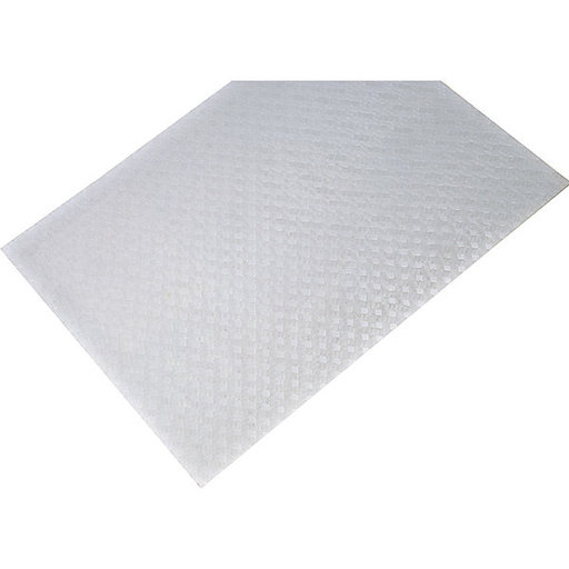 "View a Larger Image of Non-Slip Mat, Weave Pattern, White, 23-5/8"" x 46-1/16"""