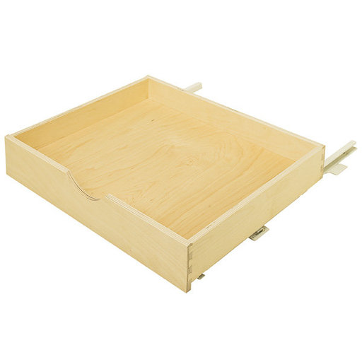 "View a Larger Image of Pantry Roll-Out Shelf , Birch, 11-15/16"" x 21-5/8"" x 3-5/8"""