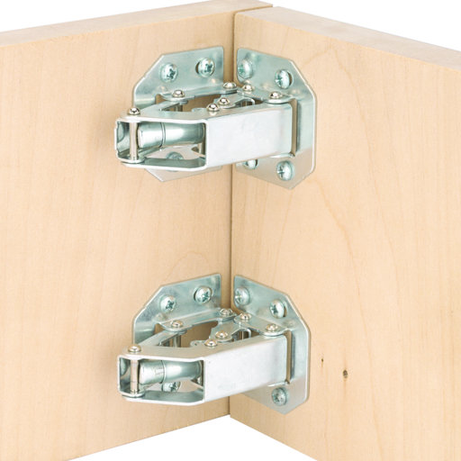 View a Larger Image of Surface Mount 90 Degree Self Closing Hinge