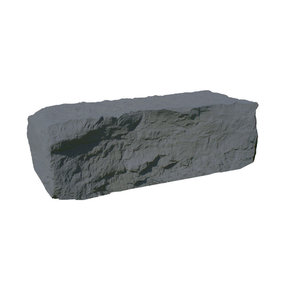 Half Rock Landscaping Rock, Grey