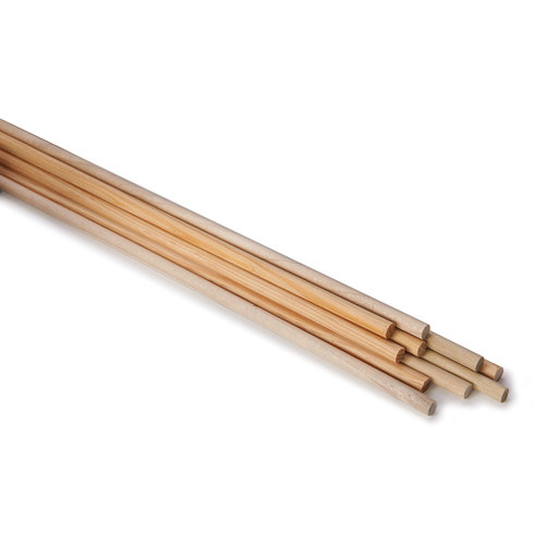"""View a Larger Image of 10 pc 1/4"""" x 12"""" Assorted Wood Dowel"""