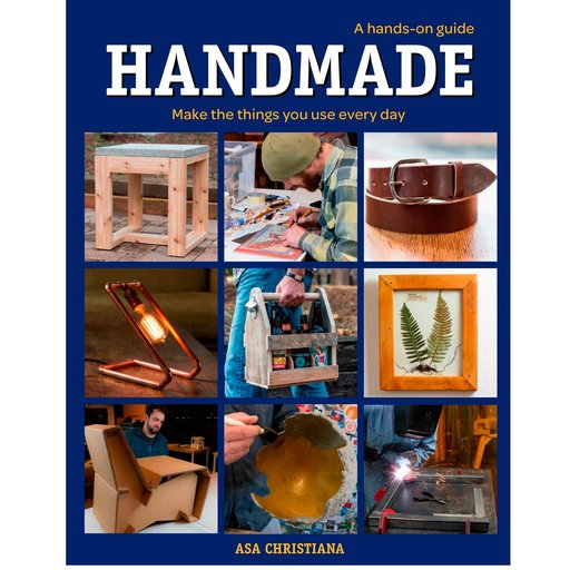 View a Larger Image of Handmade: A Hands-On Guide