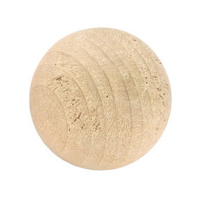 "Hardwood Ball 1-1/4"" Dia., 3-piece"