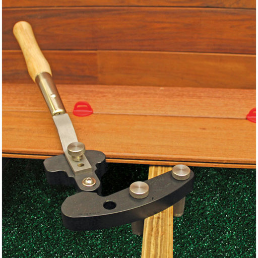 View a Larger Image of Hardwood Wrench Stainless Steel Deck Board Straightener Tool