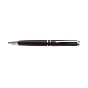 Hart Double Twist Ballpoint Pen Kit - Chrome