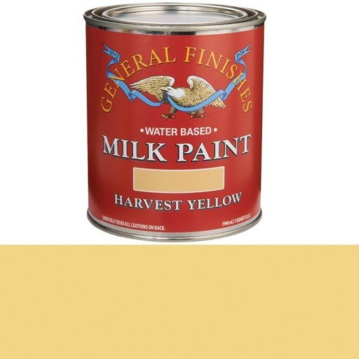 View a Larger Image of Harvest Yellow Milk Paint Quart