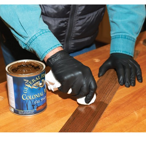 View a Larger Image of Heavy Duty Nitrile Gloves, 12 pack