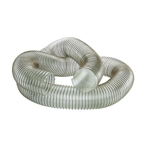 View a Larger Image of HI-TECH DURAVENT 4in x 10ft ULD Urethane Dust Collection Hose