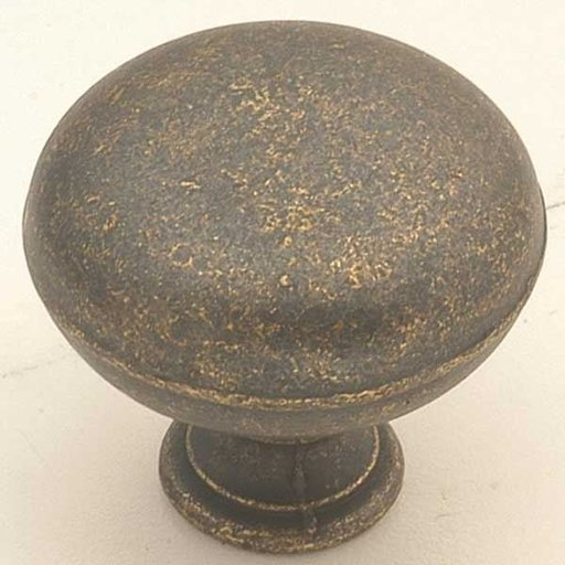 """View a Larger Image of 1-1/4"""" Cabinet Knob Project Pack, Windover Antique, 10 pieces"""