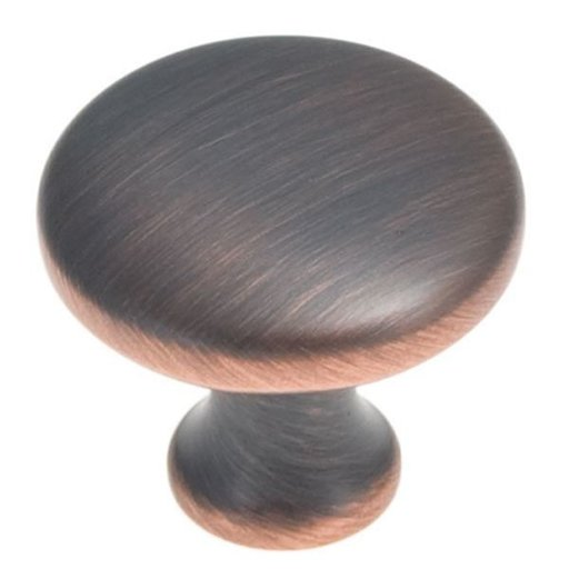 """View a Larger Image of 1-1/8"""" Metropolis Cabinet Knob Project Pack, Oil Rubbed Bronze, 10 pieces"""