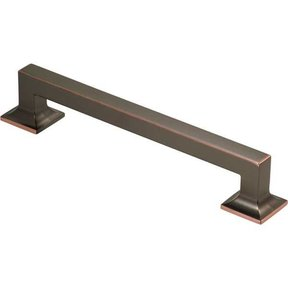 "Studio Collection Appliance Pull, 8"" center-to-center, Oil Rubbed Bronze Highlight"