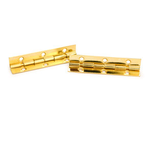 "105 degree Stop Hinge Brass Plated 2"" Pair"
