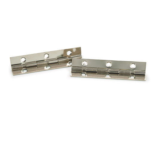 "View a Larger Image of 105 degree Stop Hinge Nickel Plated 2"" Pair"