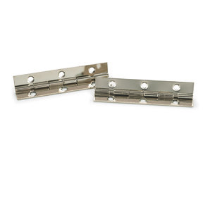"105 degree Stop Hinge Nickel Plated 2"" Pair"
