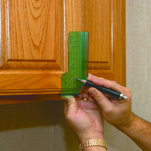 View a Larger Image of Cabinet Door Knob and Pull Template