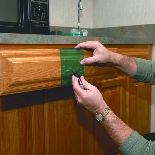 View a Larger Image of Drawer Knob and Pull Template