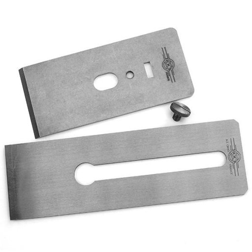"View a Larger Image of Tools A2 2.25"" Blade and Breaker for #5.5 Stanley/Record Planes"