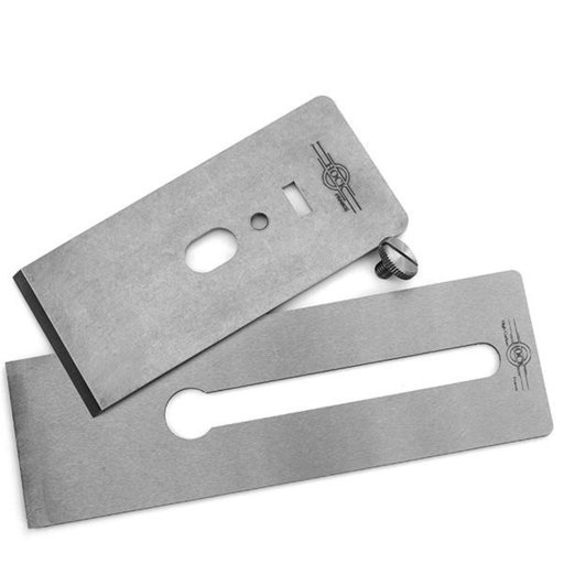 "View a Larger Image of Tools O1 2.25"" Blade and Breaker for #5.5 Stanley/Record Planes"