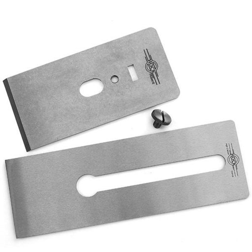 "View a Larger Image of Tools O1 2.38"" Blade and Breaker for #6 and #7 Stanley/Record Planes"