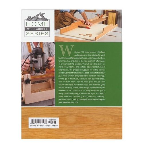 View a Larger Image of Home Workshop Jigs & Fixtures From the editiors of Woodcraft Magazine