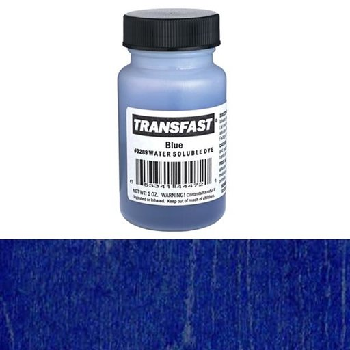 View a Larger Image of Blue Transfast Water Soluble Dye 1 oz