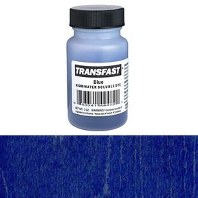 Blue Transfast Water Soluble Dye 1 oz