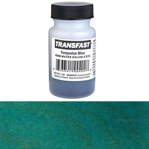 View a Larger Image of Homestead Transfast Dye Powder, Accent Color, Turquoise Blue