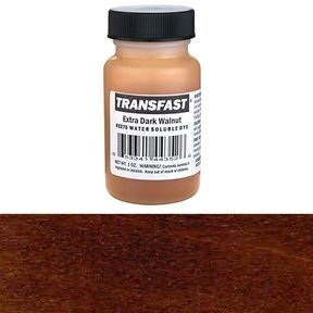 Extra Dark Walnut Transfast Water Soluble Dye 1 oz